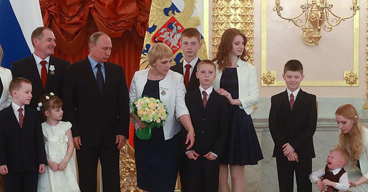 Дети Владимира Путина и  dearmummyru