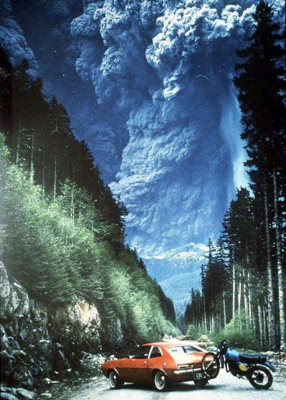 Извержение горы Сент-Хеленс, 1980 г.