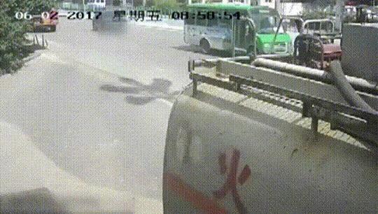 Как не надо водить машину