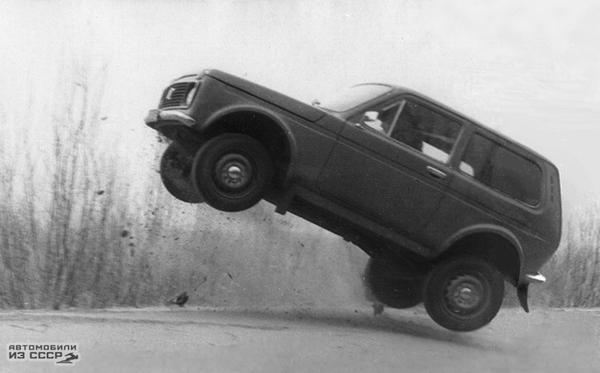 """Как """"Ниву"""" с двигателем от """"Москвича"""" испытывали АвтоВАЗ, Нива, Москвич, советский автопром, авто"""