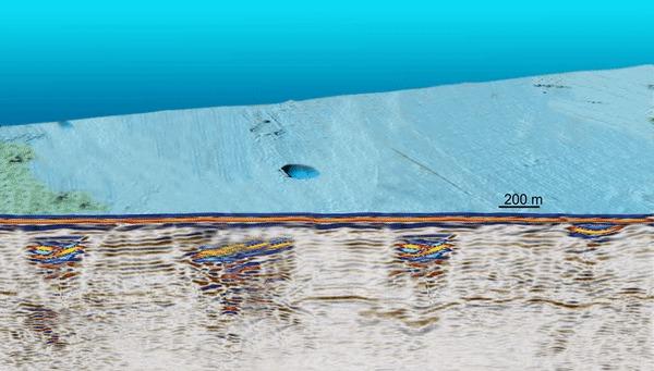 Метановые пузыри на арктическом дне вот-вот лопнут Популярная механика, Popmech, Конец света, Наука, Арктика, Метан, Гифка, Видео, Длиннопост