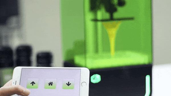 Комнатный 3D-printer Kickstarter, Технологии, Техника, 3D принтер, Гифка, Длиннопост