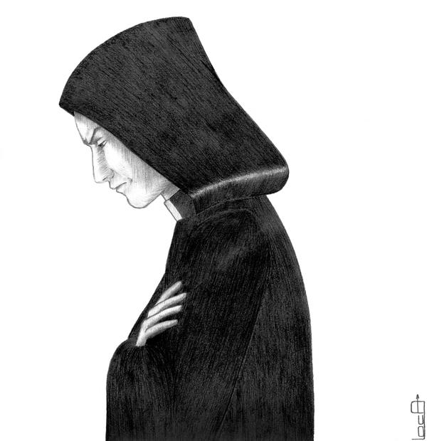 Архидьякон Фролло Рисунок, Графика