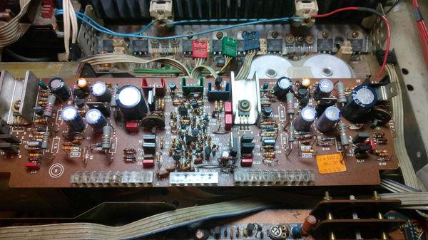 """Ремонт усилителя """"Grundig A5000"""" Ремонт электроники, Длиннопост, Folk Audio Custom, Самара, Усилитель"""