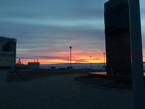 Чукотские закаты и рассветы рассвет, закат, красота, без фильтров, Чукотка, длиннопост