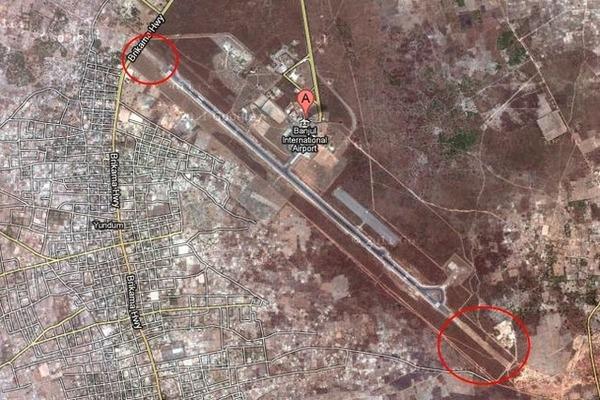 Кто построил аэропорт Юндум? Авиация, Гамбия, Африка, НЛО, Длиннопост
