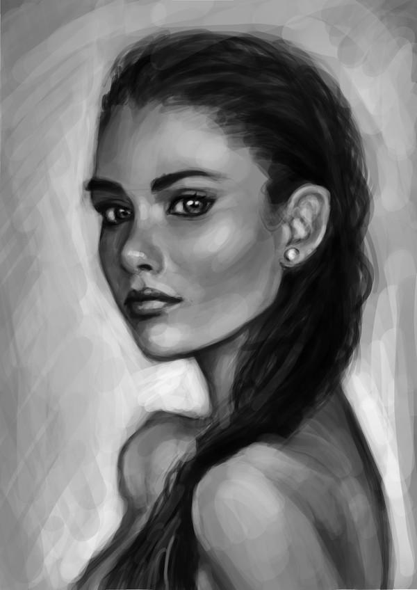 Стадик 2 арт, Портрет, стадик