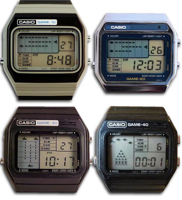 Электронные игровые часы: немного истории моё, часы, наручные часы, игры, история, история вещей, длиннопост