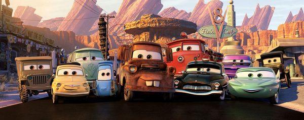 """Как создавали мультфильм """"Тачки"""" filmru, авто, pixar, мультфильм, анимация, как снимали, Фильмы, длиннопост"""