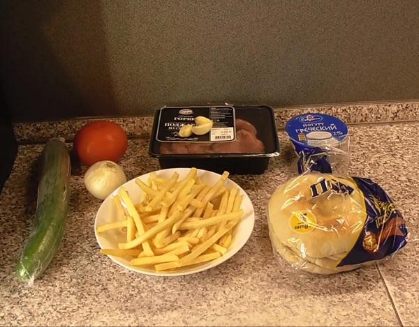 Гирос, греческая шаурма. Быстро, вкусно, божественно! еда, рецепт, шаурма, готовим дома, кулинария, соль и перец, видео, длиннопост