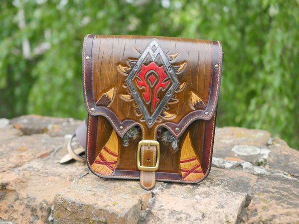 Сумка из сувенирной лавки Оргриммара wow, орда, warcraft, своими руками, blizzard, длиннопост