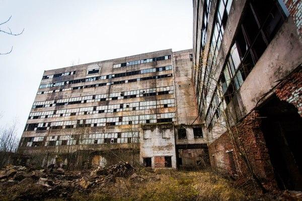 заброшенный завод в киришах также норвежское