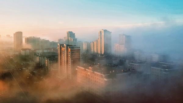 Казань. Снова туман Фотография, Казань