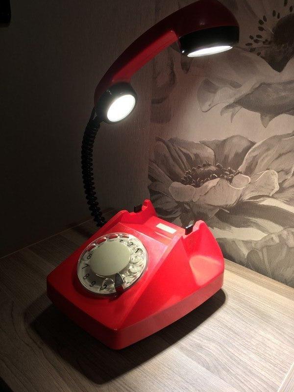 """""""Телефонный"""" светильник креатив, дизайн, Интересное, светильник, длиннопост"""