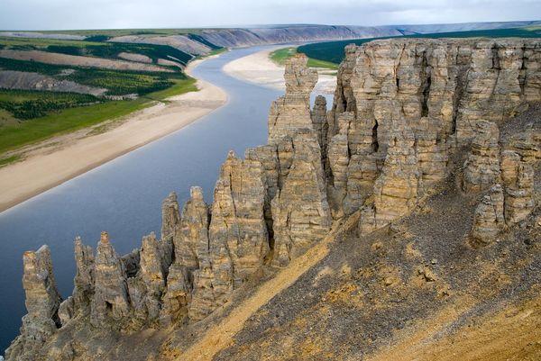 Республика Саха, река Оленёк Якутия, Оленек, река, природа, туризм, надо съездить, пейзаж, Россия, длиннопост