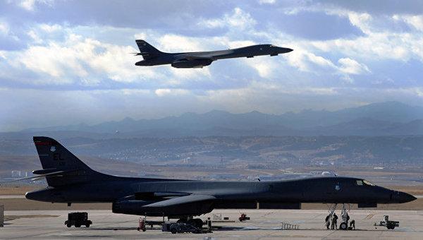 США направили два бомбардировщика в Южную Корею на фоне конфронтации с КНДР события, Политика, США И КНДР, бомбордировщики, южная корея, Конфликт, испытания, РИА Новости