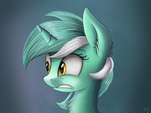 Что же увидела лира? Догадки в комменты:) My little pony, Lyra Heartstrings, Арт, DeviantArt