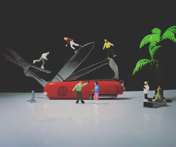 Маленькие люди в большом мире. Часть 3 хобби, моделизм, миниатюра, маленькие люди, длиннопост