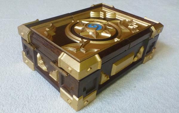 Hearthstone box replica mini. Резная хартстоун шкатулка мини версия из дуба Hearthstone, Box, Шкатулка, Replica, Дуб, Резьба, Длиннопост