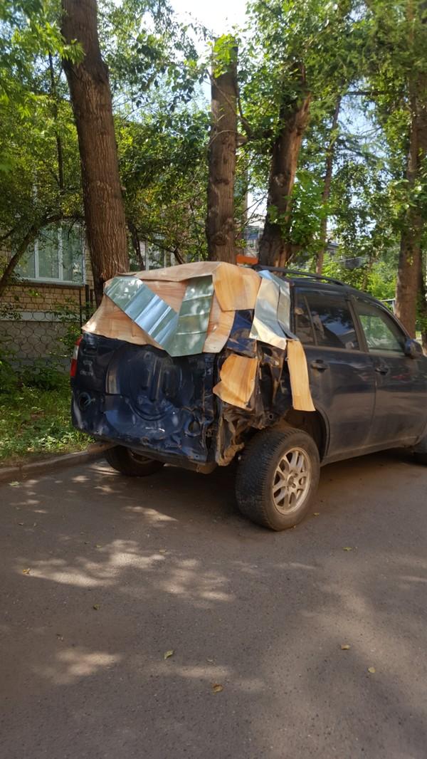 Ремонт авто в Красноярске. авто, ремонт авто, Линолеум, Красноярск, качество, идеально, длиннопост