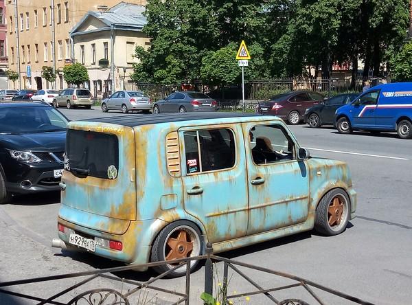 В стиле гранж. Автотюнинг, Санкт-Петербург, Гранж