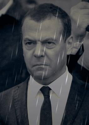 Я как-то слышал анекдот... Дмитрий Медведев, Политика, Мемы, Дождь, Нуар, На случай важных переговоров, Гифка