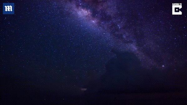 Гроза в звездную ночь