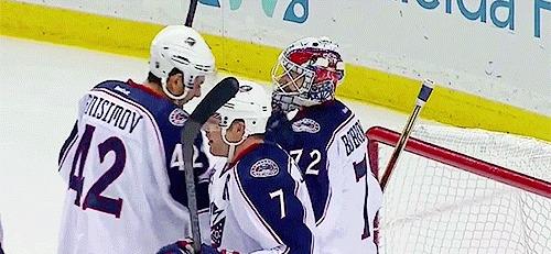 Бобровский во второй раз признан лучшим вратарём НХЛ Хоккей, Сергей Бобровский, Сборная России, НХЛ, Везина Трофи, гифка, длиннопост