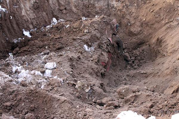 Участник ДТП закопал оппонента с машиной в землю ДТП, Убийство, Правосудие, Криминал, Длиннопост