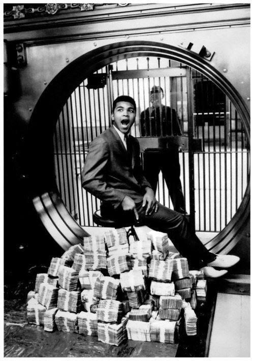 Мохаммед  Али и его первый миллион