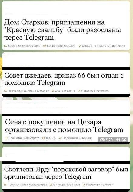 Вся правда про Telegram