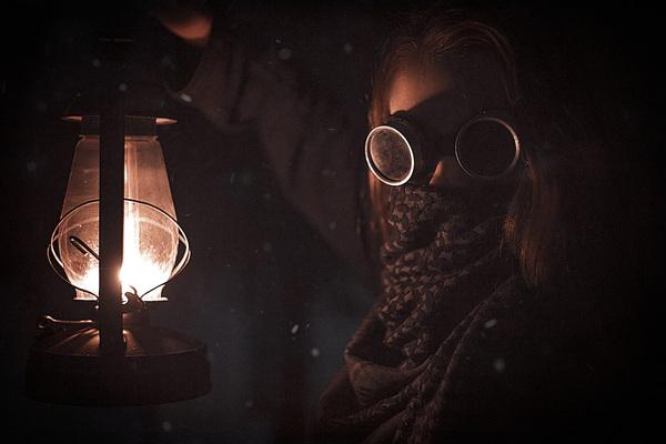 Ядерная зима canon, фотография, фотосессия, Canon 6d, ночь, постапокалипсис, постановка