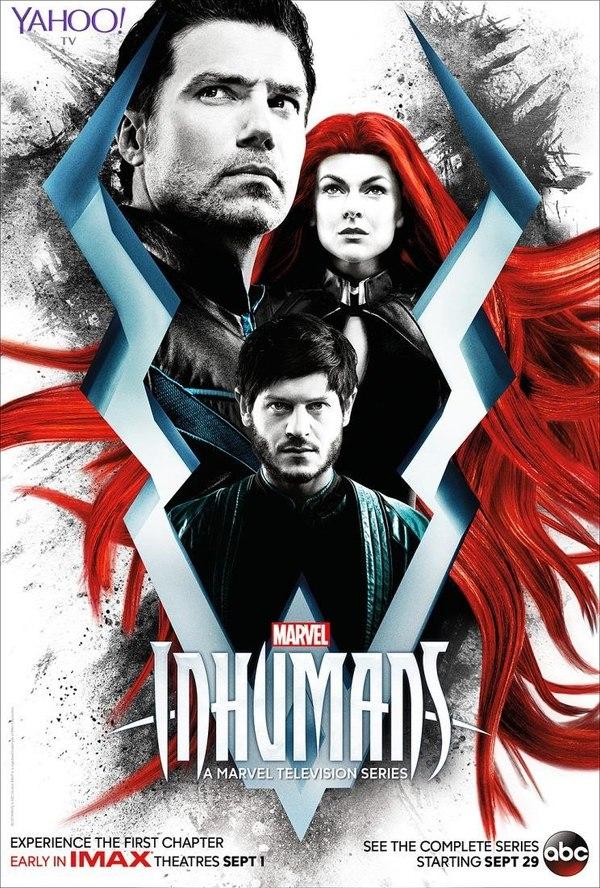 Новый постер «Нелюдей» — нового сериала в киновселенной Marvel Нелюди, Сериалы, Постер, Иван Реон, Marvel, Сверхлюди, IMAX