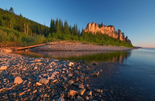 Летняя Якутия республика саха якутия, фотография, Природа, лето, пейзаж, надо съездить, река, длиннопост