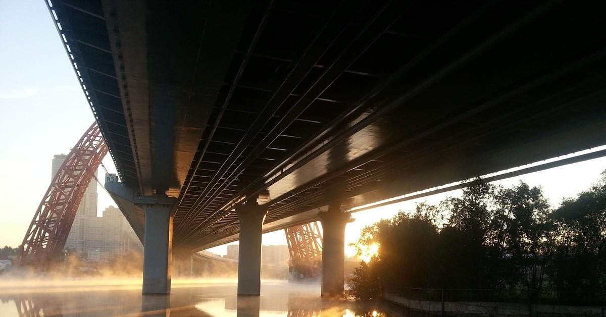фотографии из под моста