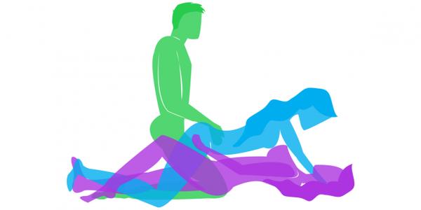 7 лучших поз для секса втроём Копипаста, секс, позы, МЖМ, Картинки, мастурбация, Лайфхак, длиннопост