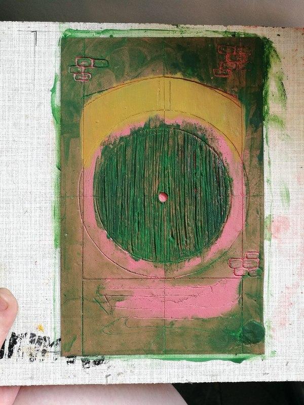 Обложка для блокнота из полимерной глины своими руками моё, рукоделие, своими руками, сделай сам, полимерная глина, блокнот, властелин колец, хоббит, длиннопост