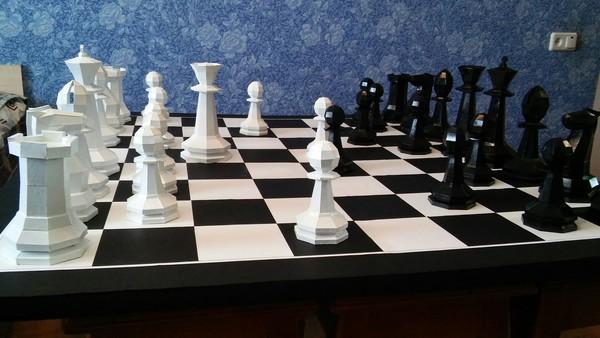 Мой кусок творчества творчество, бумага, Шахматы, длиннопост