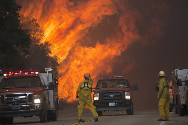 Ужасная красота пожаров в Калифорнии пожар, Калифорния, сша, Катастрофа, огонь, пламя, длиннопост