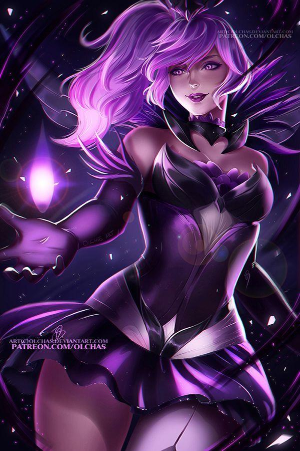 Dark Elementalist Lux by OlchaS OlchaS, League of Legends, Люкс, Dark Elementalist Lux, Арт