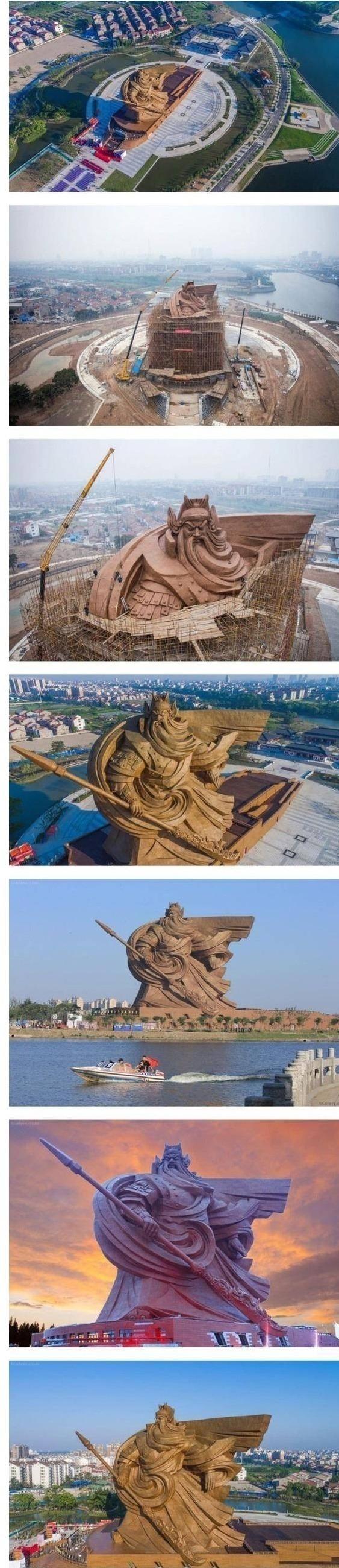 Масштаб статуи в Китае масштаб, статуя, Китай, длиннопост