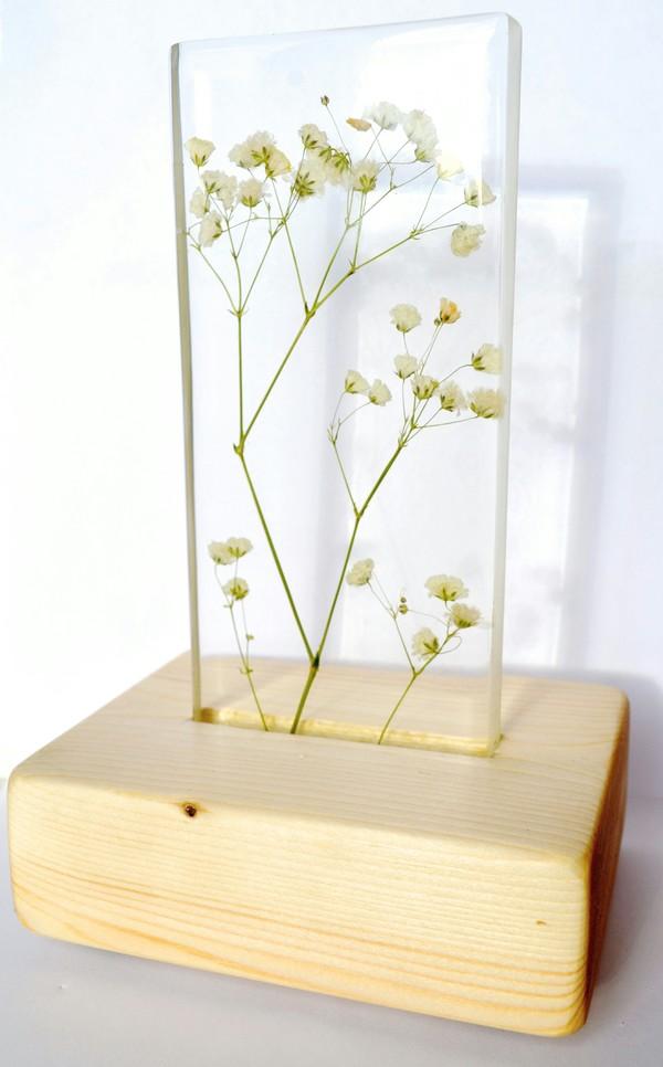 Живые растения в ночниках рукоделие без процесса, эпоксидная смола, своими руками, авторская работа, handmade, ночник, цветы, длиннопост