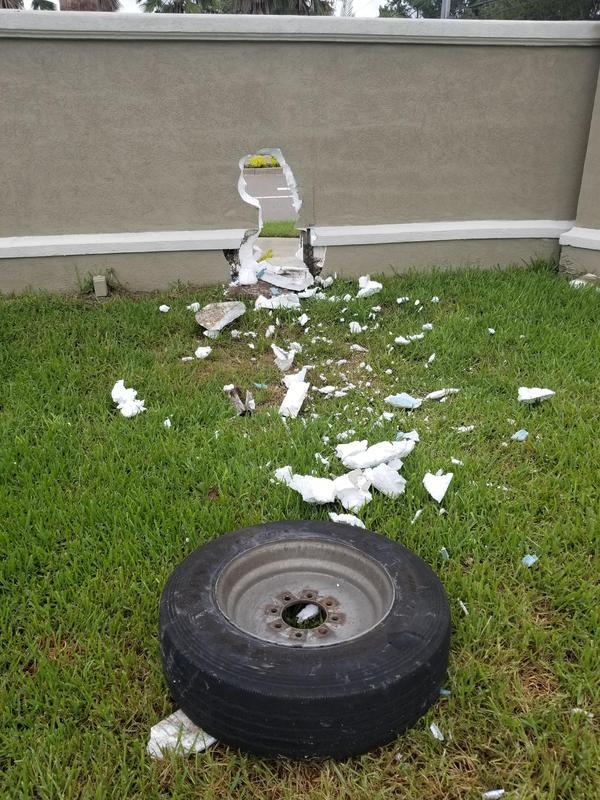 Доброе утро фотография, забор, колесо, говно и палки, длиннопост