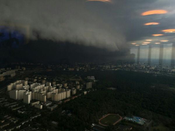 Гроза апокалипсиса с высоты Останкинской телебашни! (Москва, 30.06.2017)