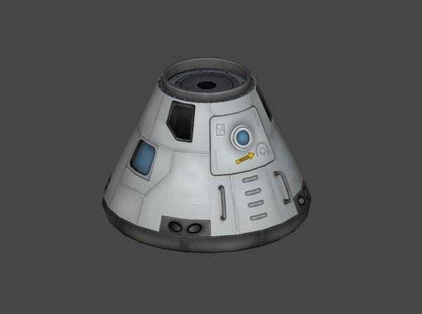 """""""Восток"""" и командный модуль """"Аполлона"""". Kerbal Space Program, космос, игрушки"""