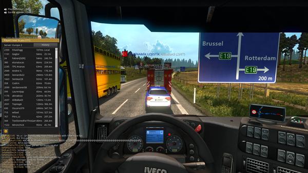 Симулятор пробок. Euro Truck Simulator 2, Пробки, Грузовик, Игры