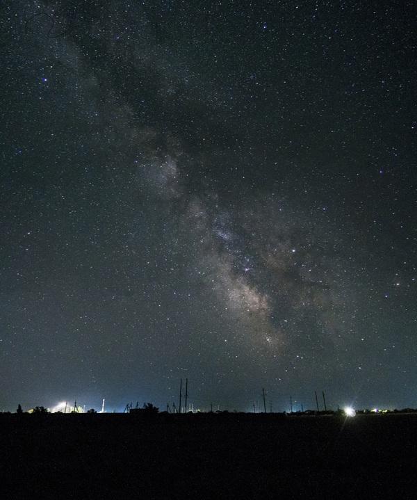 Млечный путь. Крым, двор млечный путь, звёзды, фотография, длиннопост