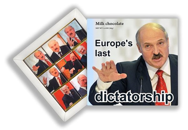 На Amazon продают шоколад с фотографиями и цитатами Александра Лукашенко. Беларусь, лукашенко, политика, шоколад, amazon, длиннопост