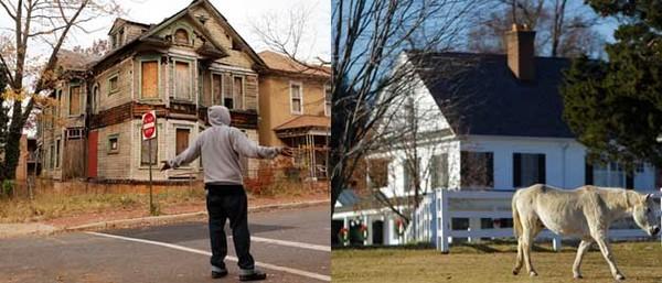 Хорошие, плохие и очень плохие районы в США США, Жизнь в США, Жилье, Спальный район, Длиннопост