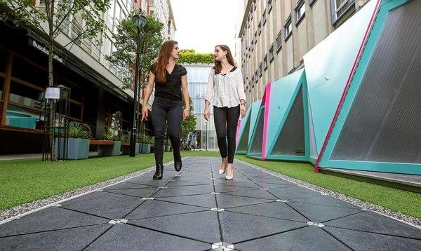 В Лондоне появилась пешеходная смарт-улица Лондон, улица, смарт, торговая площадка, экология, видео, длиннопост